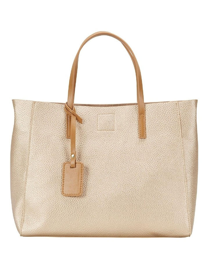 SANDLER Billi Soft Gold Metallic Tote Bag image 1