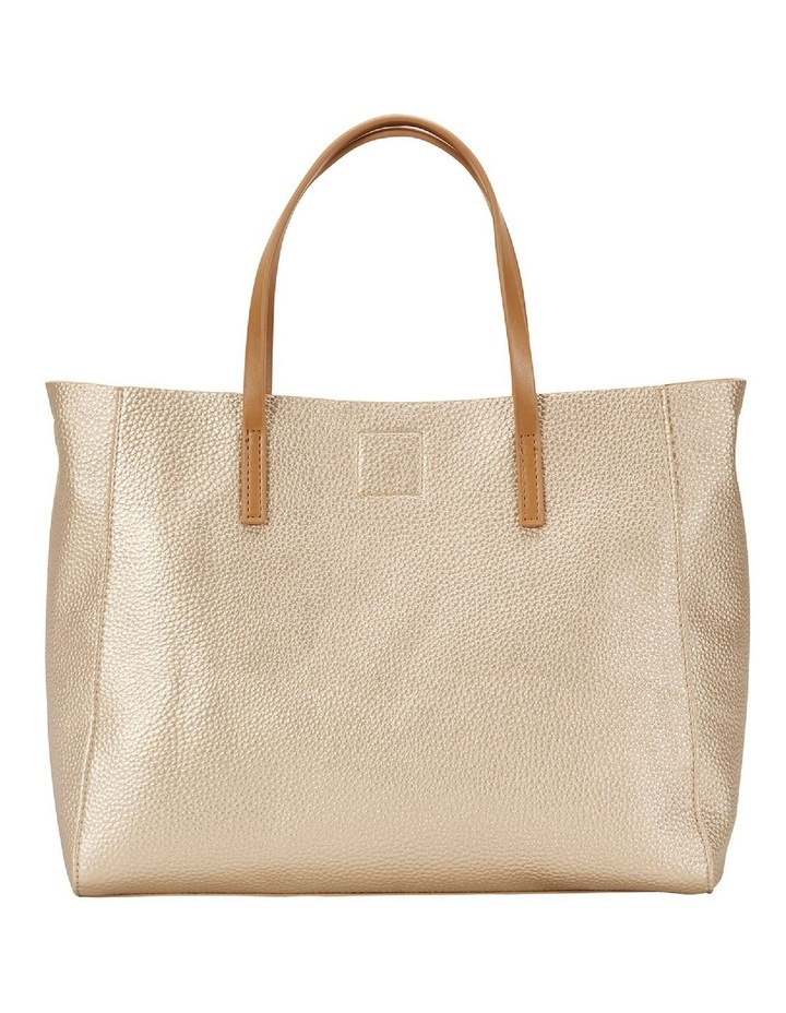 SANDLER Billi Soft Gold Metallic Tote Bag image 2