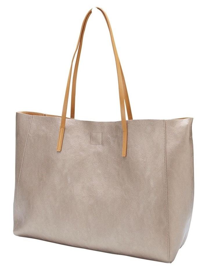 SANDLER Bobbi Pewter Tote Bag image 2
