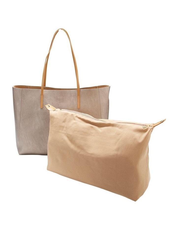 SANDLER Bobbi Pewter Tote Bag image 3