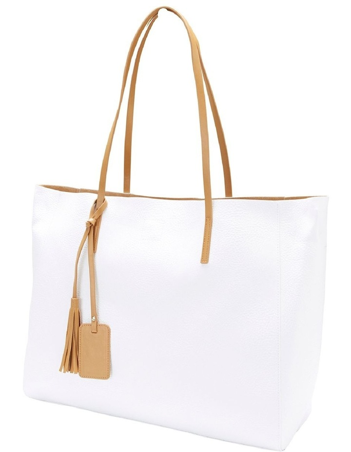SANDLER Bobbi White Tote Bag image 1