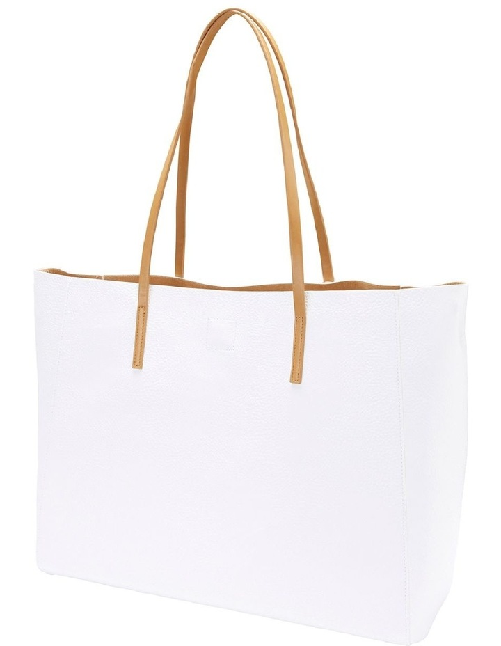 SANDLER Bobbi White Tote Bag image 2