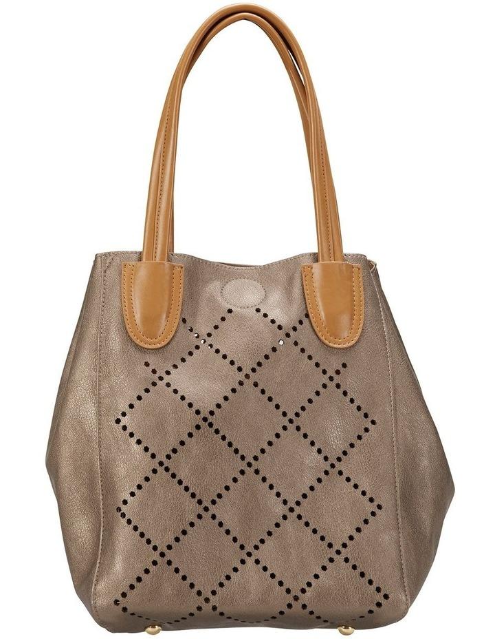 SANDLER Molly Pewter Shoulder Bag image 1