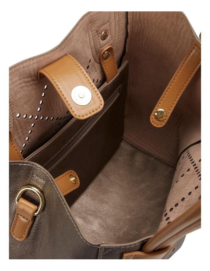 SANDLER Molly Pewter Shoulder Bag image 3