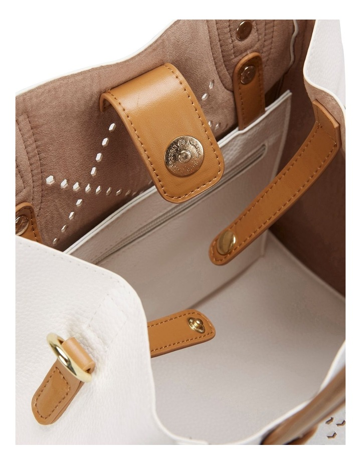 SANDLER Molly White Shoulder Bag image 2