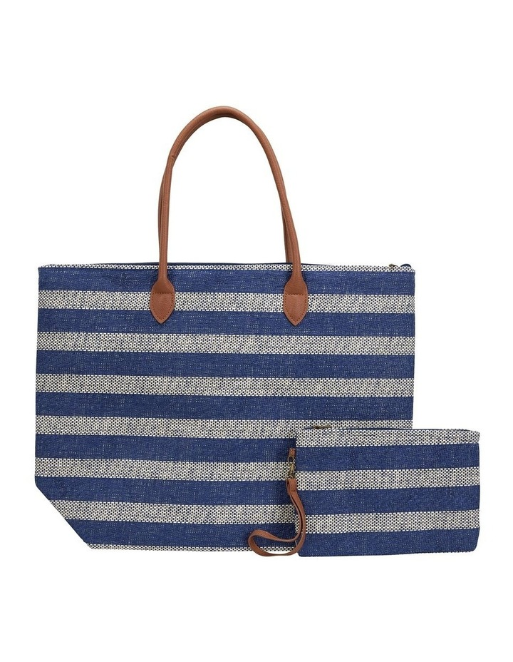 SANDLER Bailey Navy Tote Bag image 1