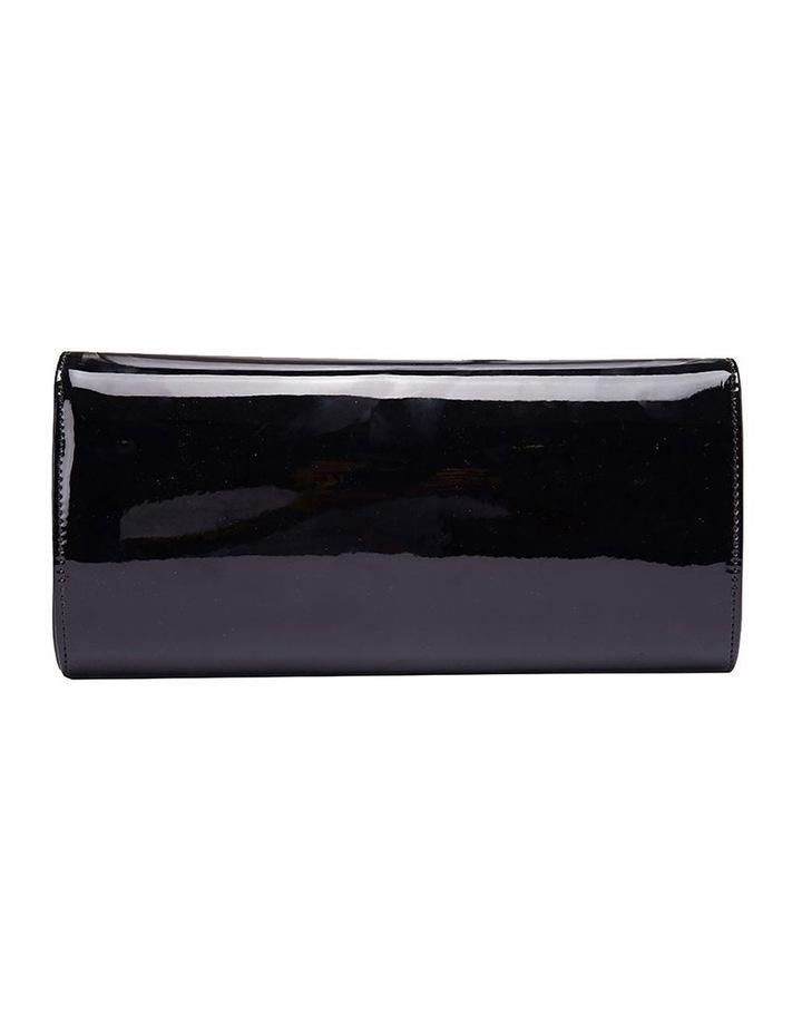 SANDLER Paige Black Patent Clutch Bag image 4