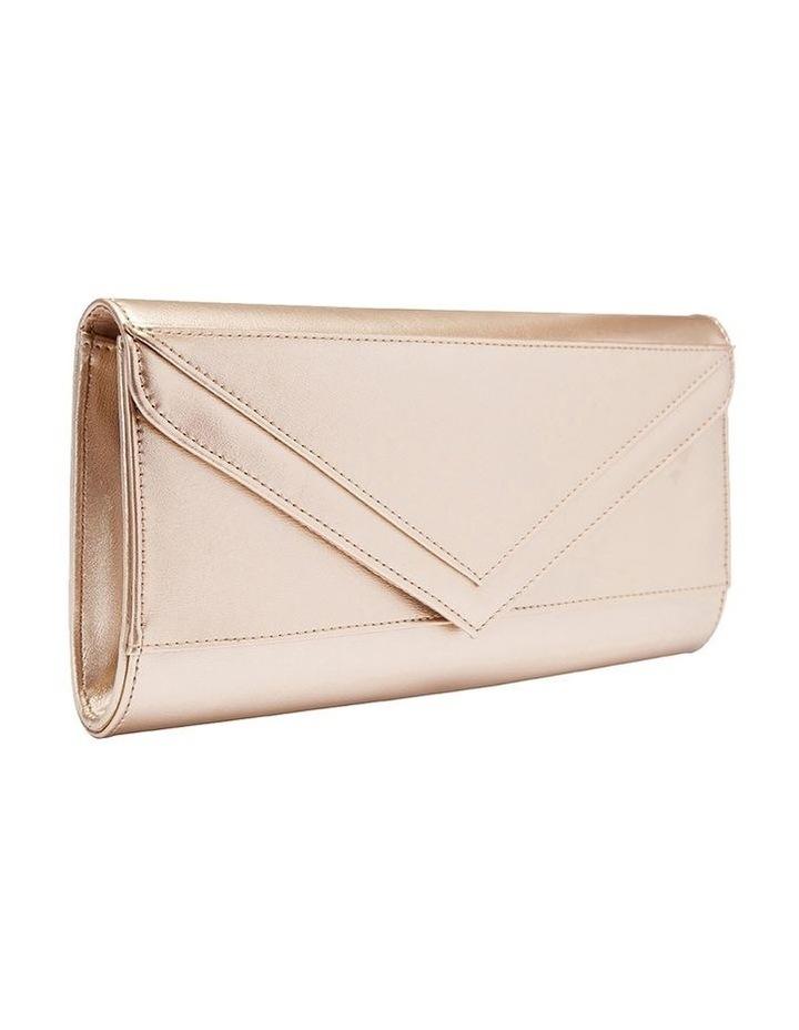 SANDLER Paige Gold Clutch Bag image 1