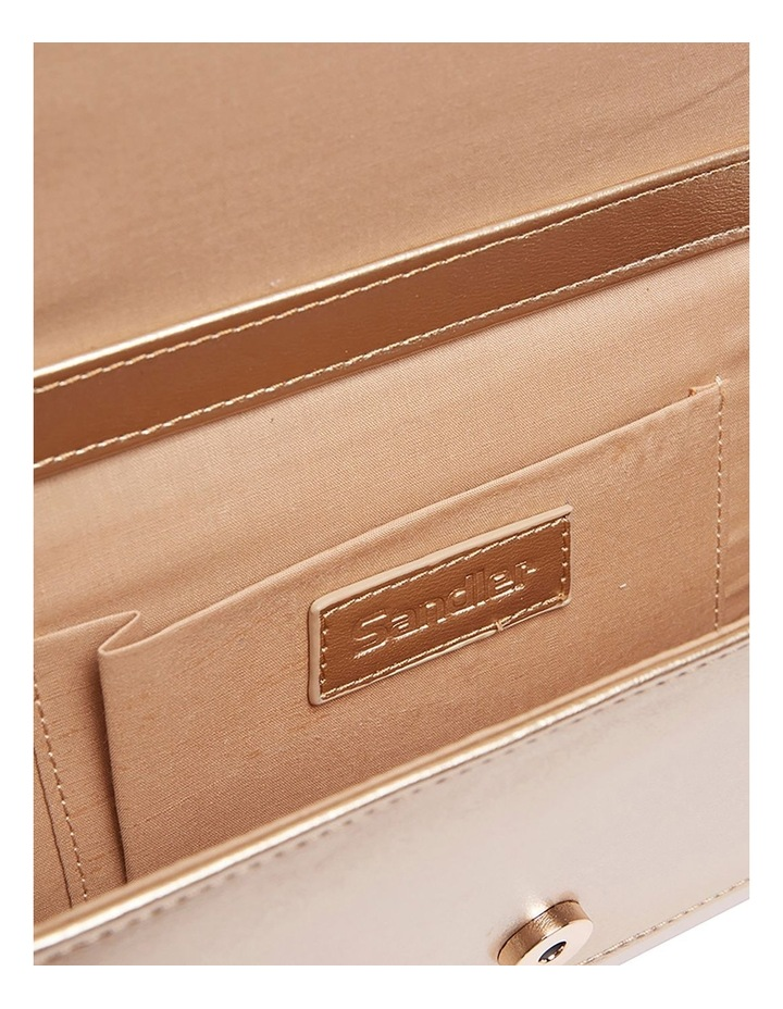 SANDLER Paige Gold Clutch Bag image 6