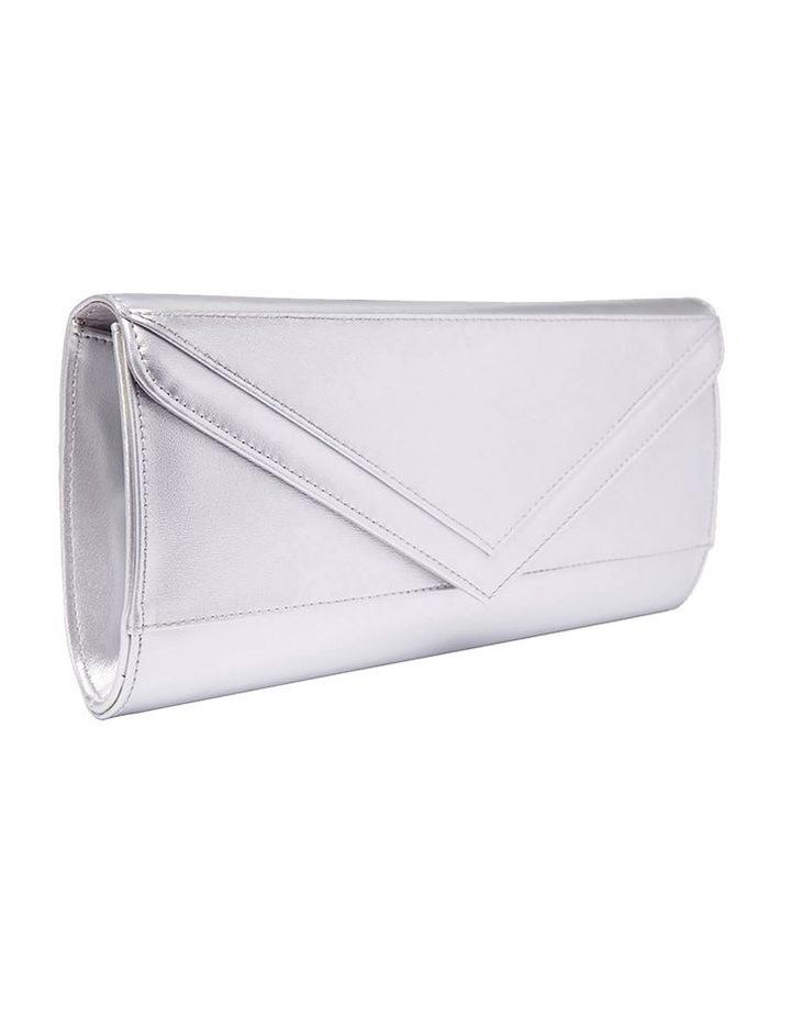 SANDLER Paige Silver Clutch Bag image 1