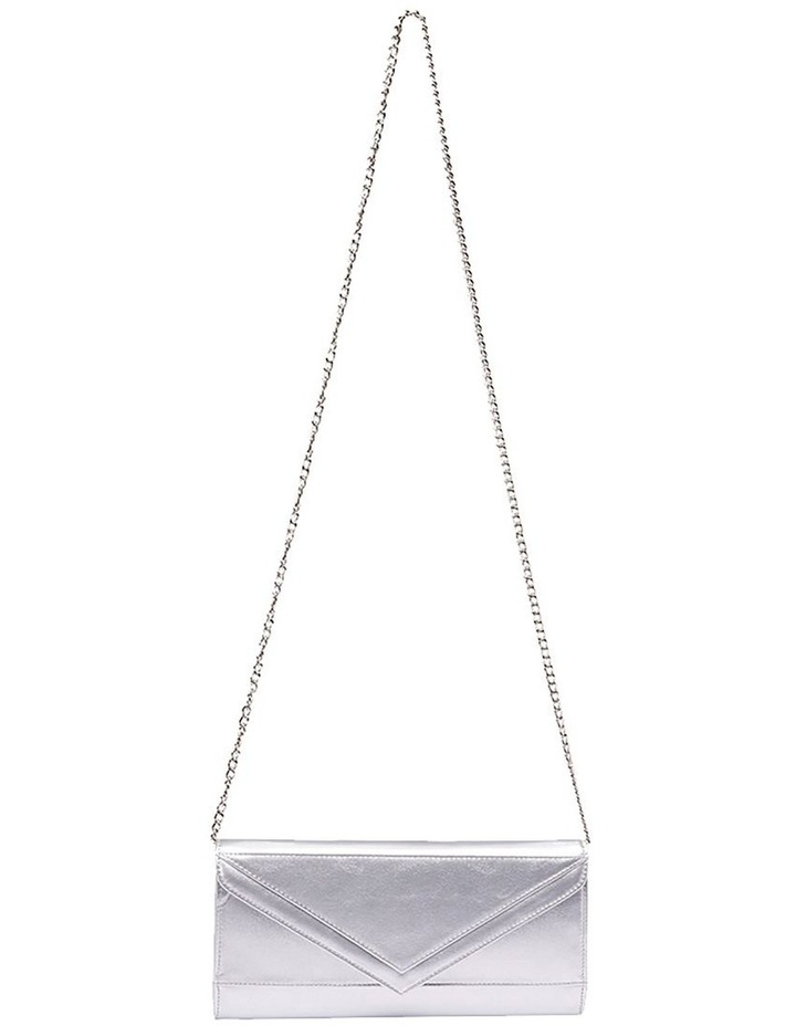 SANDLER Paige Silver Clutch Bag image 2