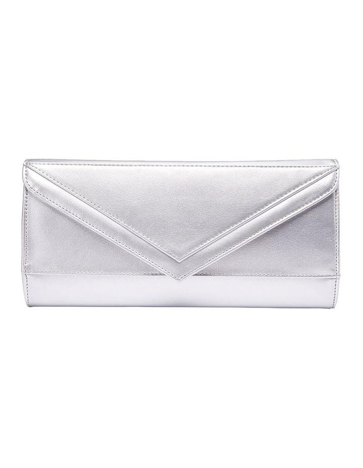 SANDLER Paige Silver Clutch Bag image 3