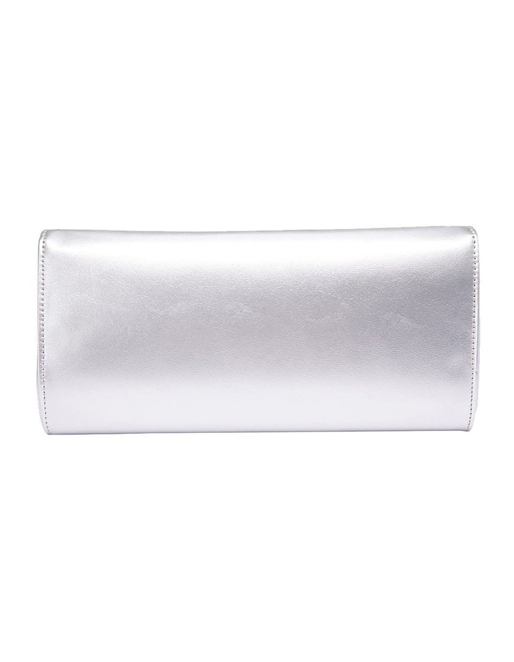 SANDLER Paige Silver Clutch Bag image 4