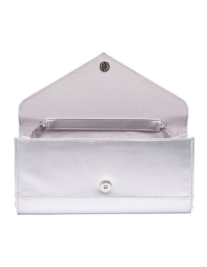 SANDLER Paige Silver Clutch Bag image 5