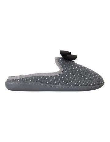 874f59e94 Easy StepsSatire Charcoal Spot Slipper