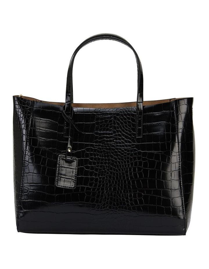 Sandler H-Billi Black Croc Handbag image 1