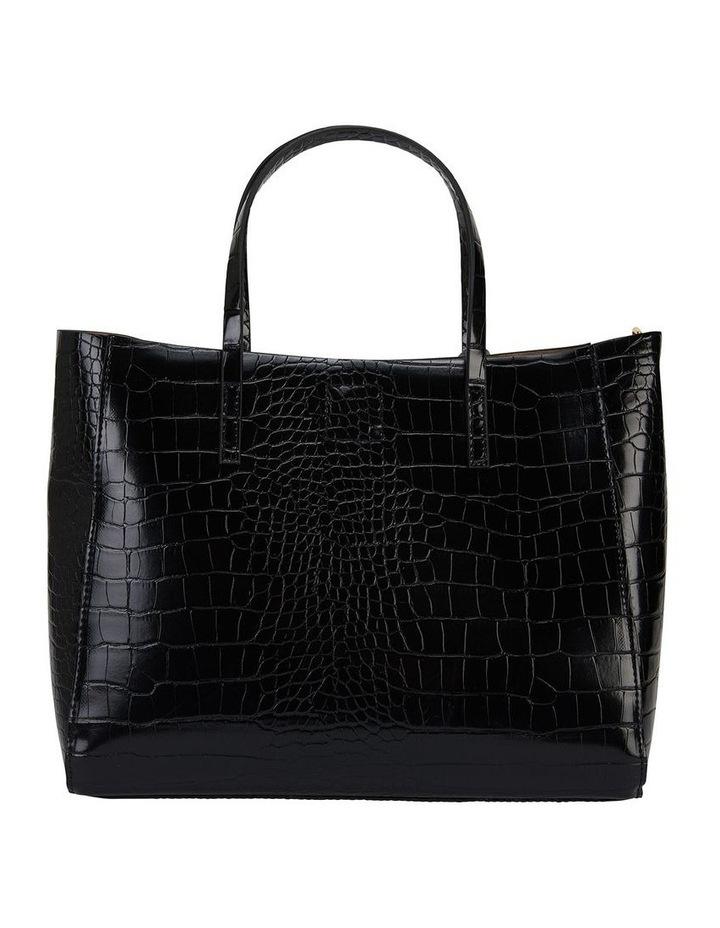 Sandler H-Billi Black Croc Handbag image 2