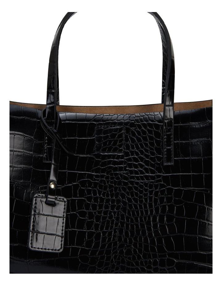 Sandler H-Billi Black Croc Handbag image 3