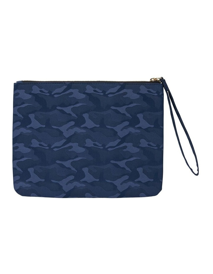 H-Lilly Blue Camouflage Clutch image 2