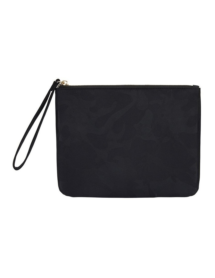 H-Lilly Black Camouflage Clutch image 1