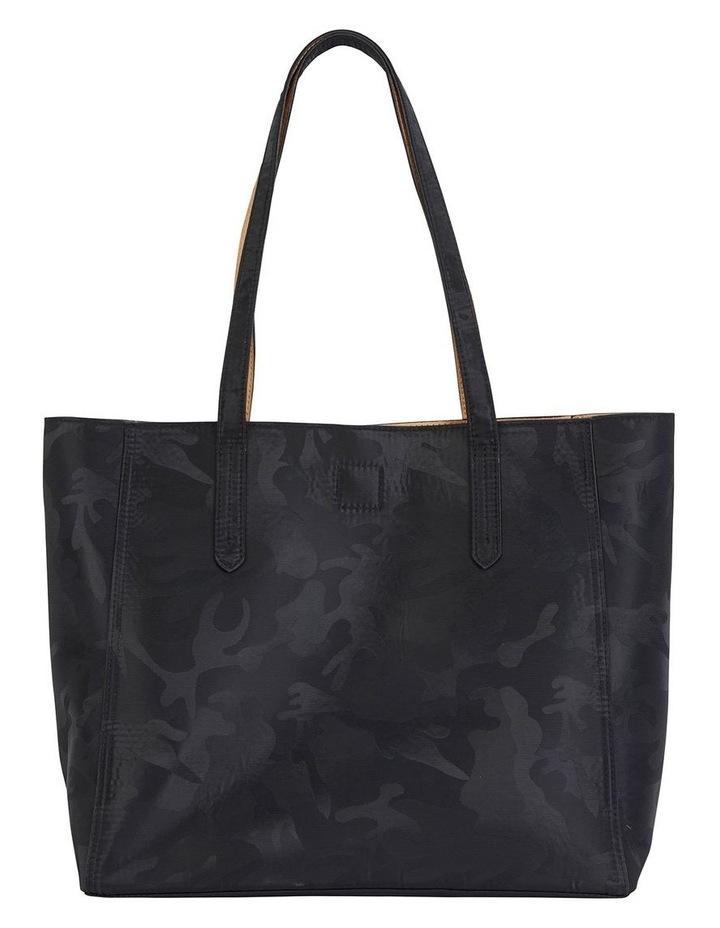 H-Charlie Black Camouflage Handbag image 1