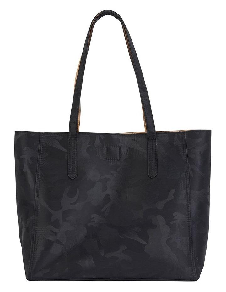 H-Charlie Black Camouflage Handbag image 2