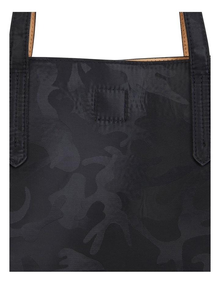 H-Charlie Black Camouflage Handbag image 3
