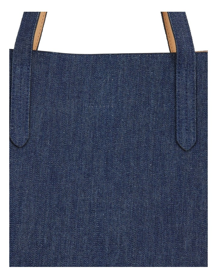 H-Charlie Denim Handbag image 3