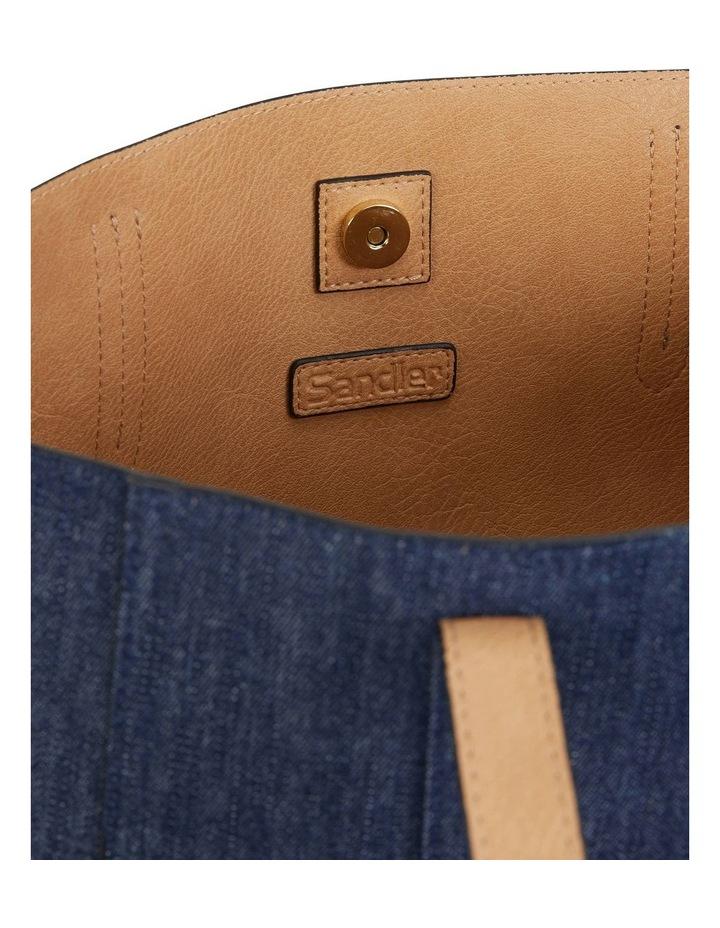 H-Charlie Denim Handbag image 4