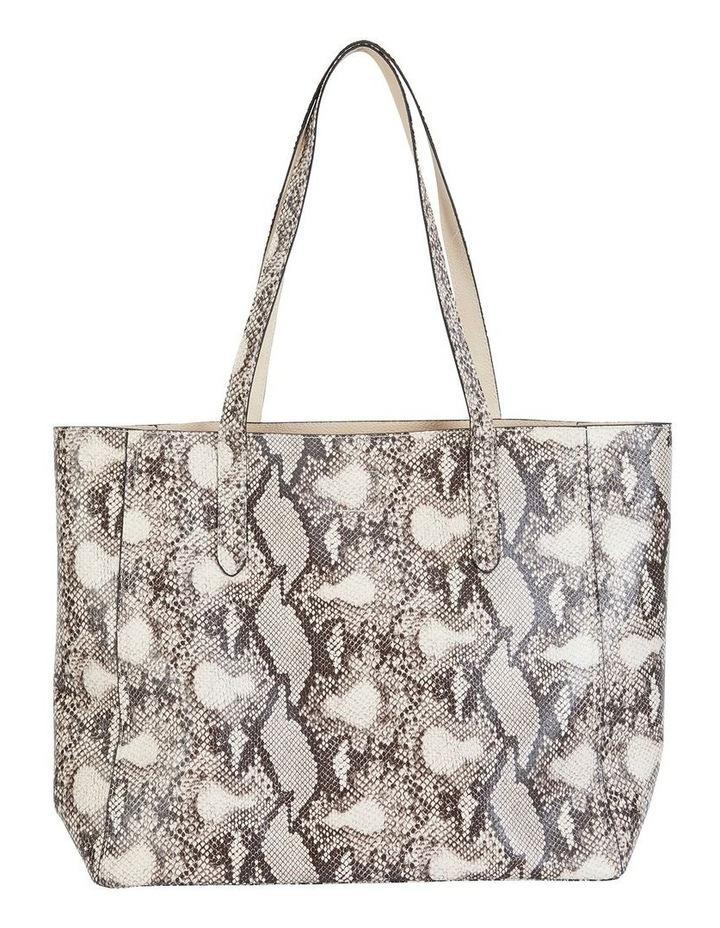 H-Charlie Snake Print Handbag image 1