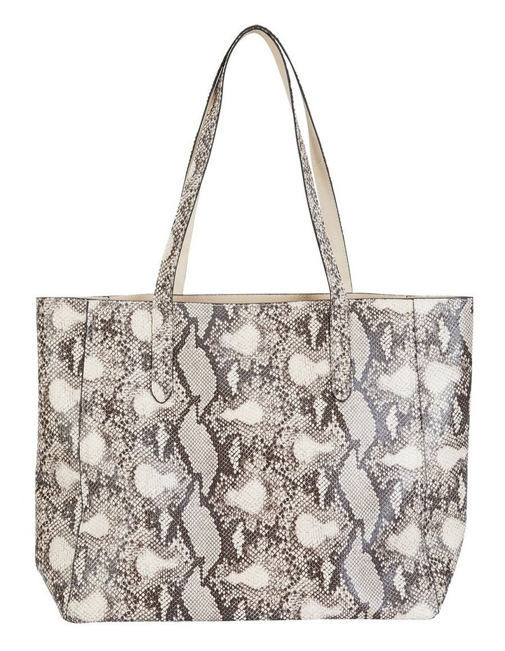 H-Charlie Snake Print Handbag image 2