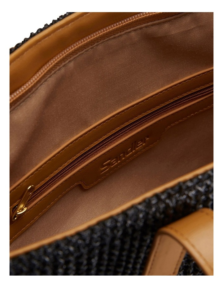 H-Bale Black Tote Bag image 3