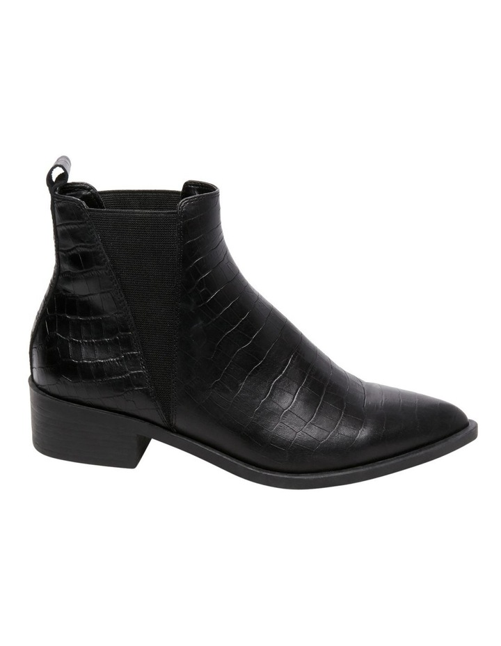 d298feded72 Steve Madden Jerry Black Croco Boot