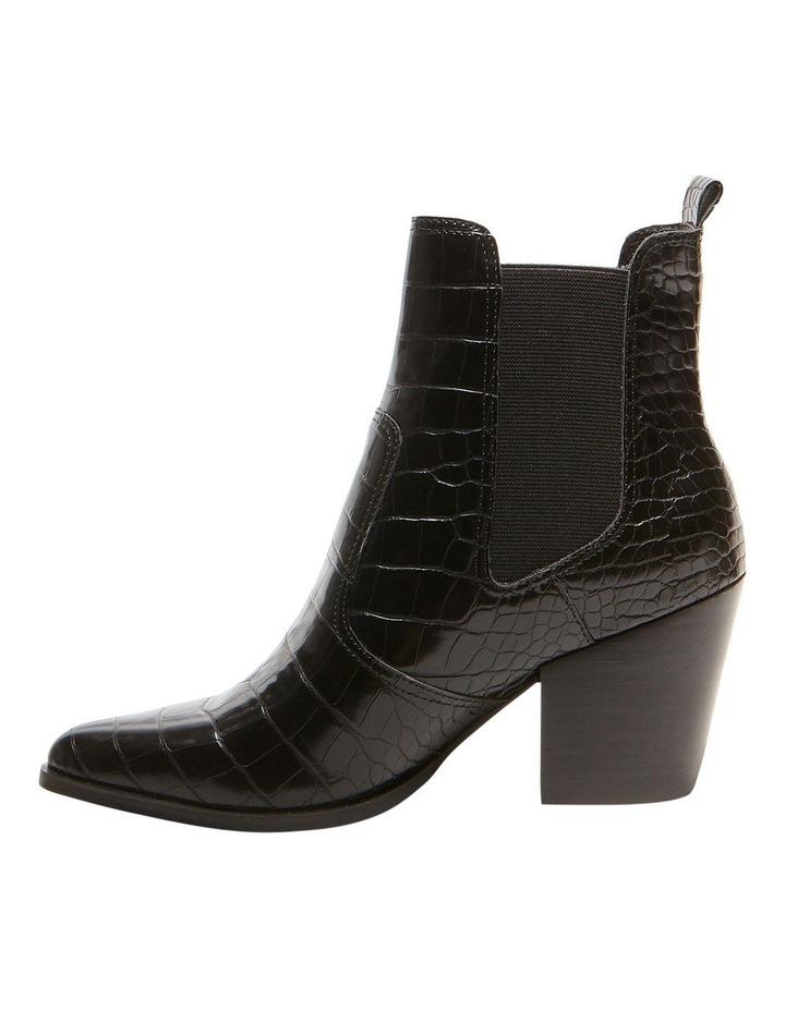 Steve Madden Patricia Black Croco Boot Myer
