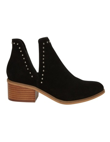 6797b0fc8b4 Steve Madden Lorna Black Suede Boot