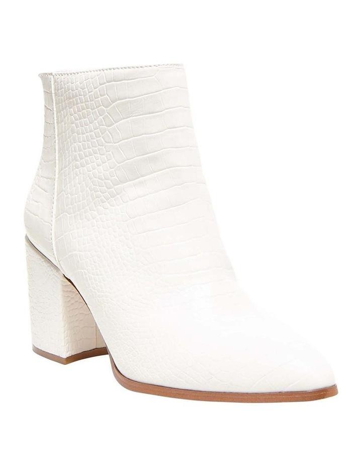 Jillian White Croc Boot image 4