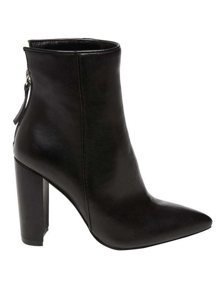 Trista Black Leather Boot image 1
