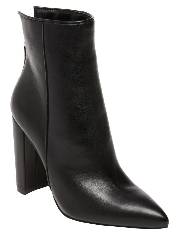 Trista Black Leather Boot image 2