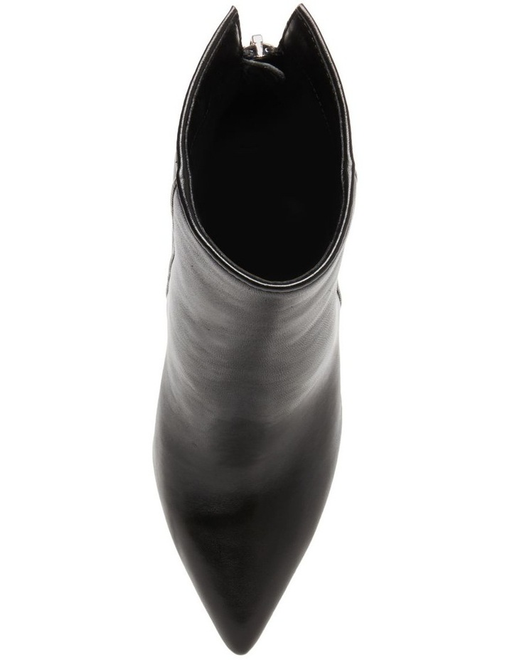 Trista Black Leather Boot image 5