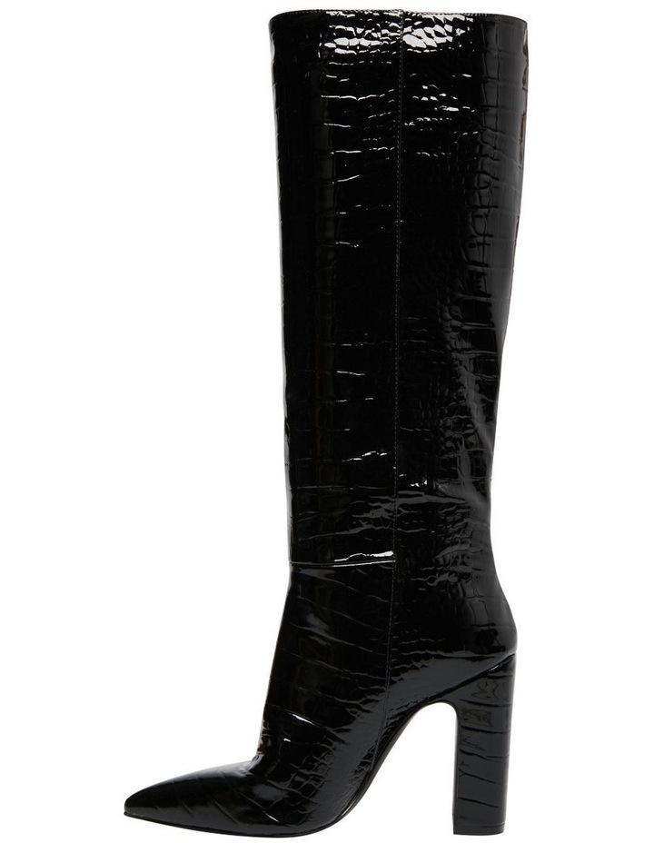 Rouge Black Croco Boot image 3