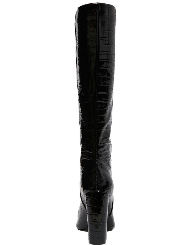 Rouge Black Croco Boot image 6