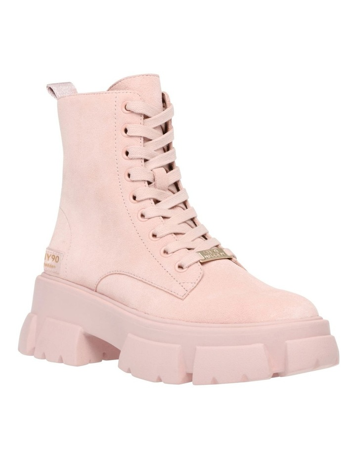 Tanker Pink Suede Boot image 3