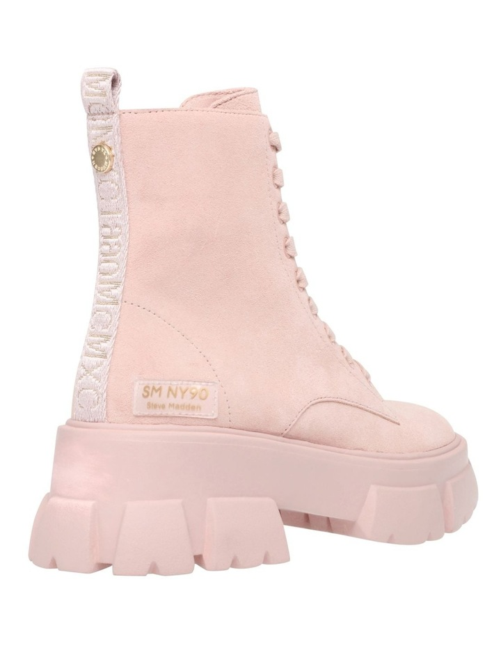 Tanker Pink Suede Boot image 4