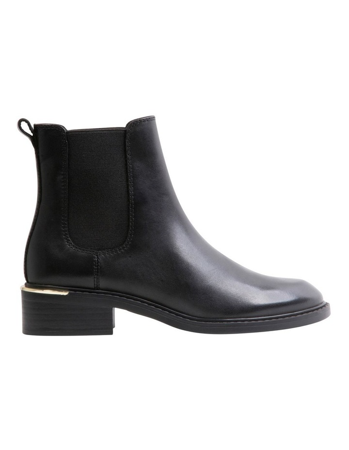 Zag Black Leather Boots image 1
