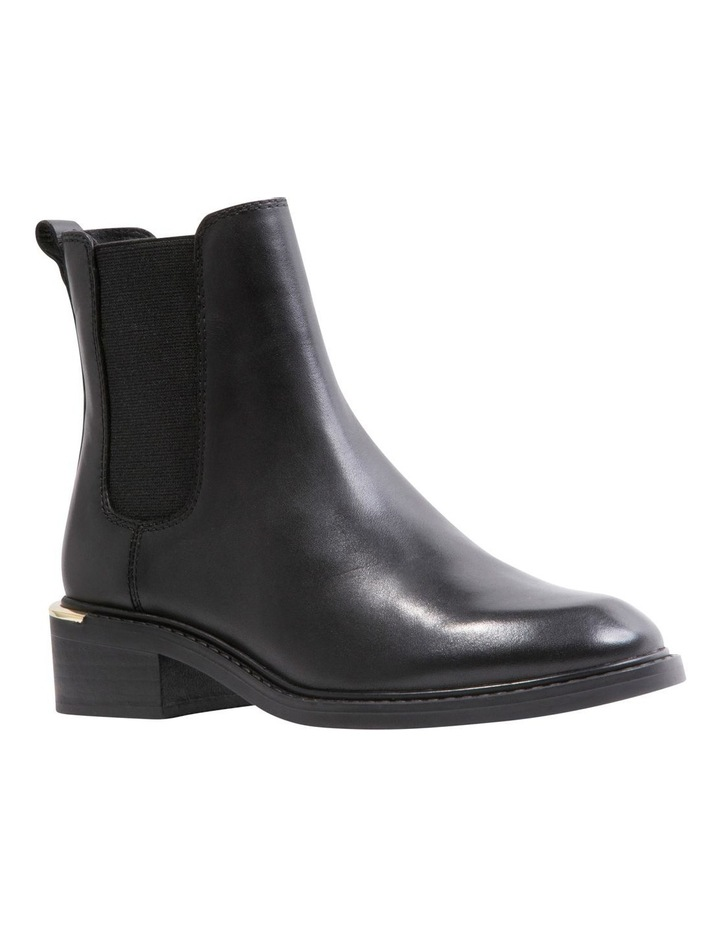 Zag Black Leather Boots image 3