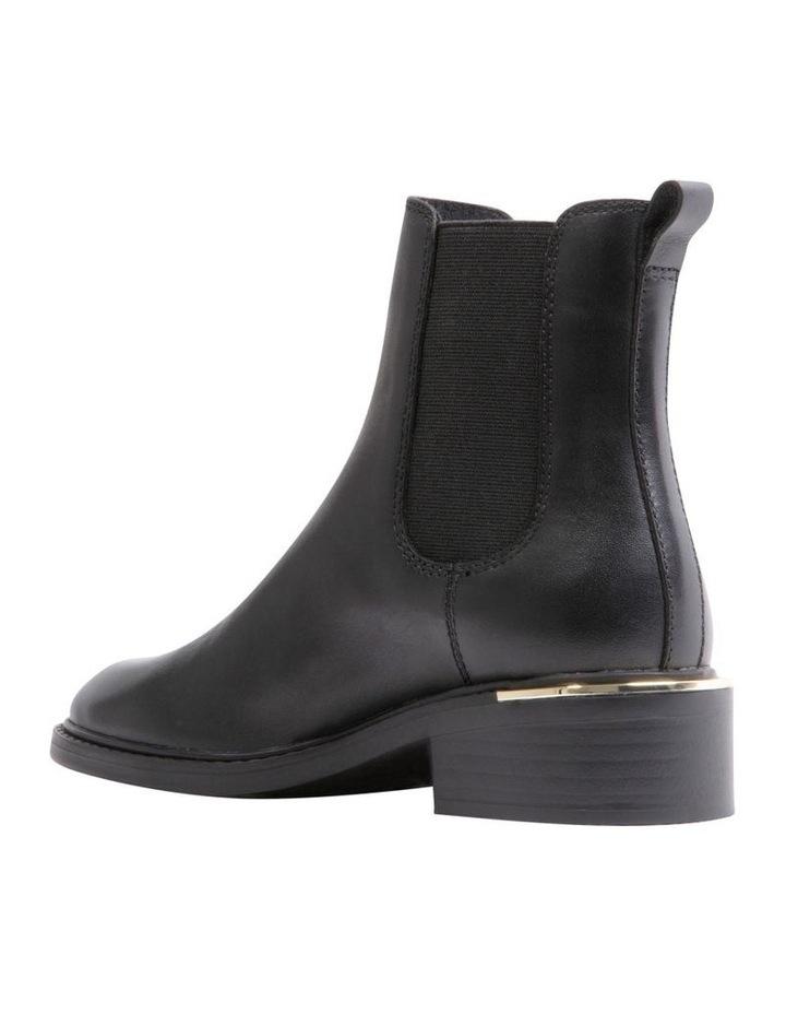 Zag Black Leather Boots image 4