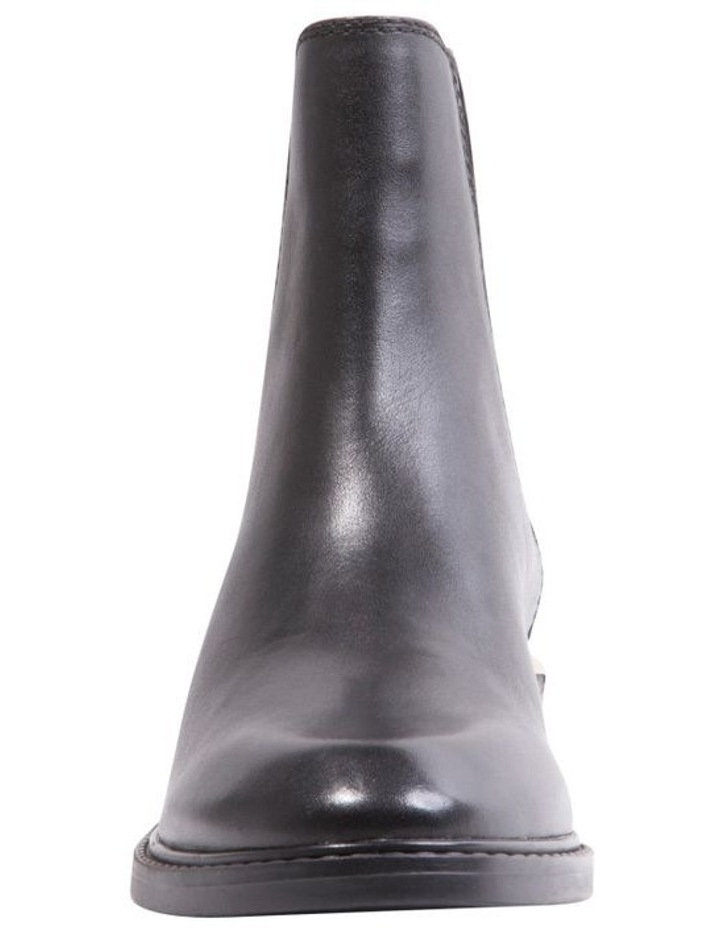 Zag Black Leather Boots image 6