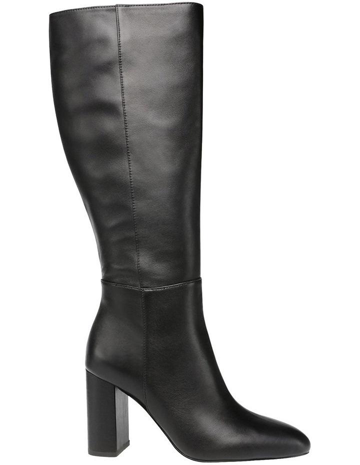 Ninny Black Leather Boot image 1