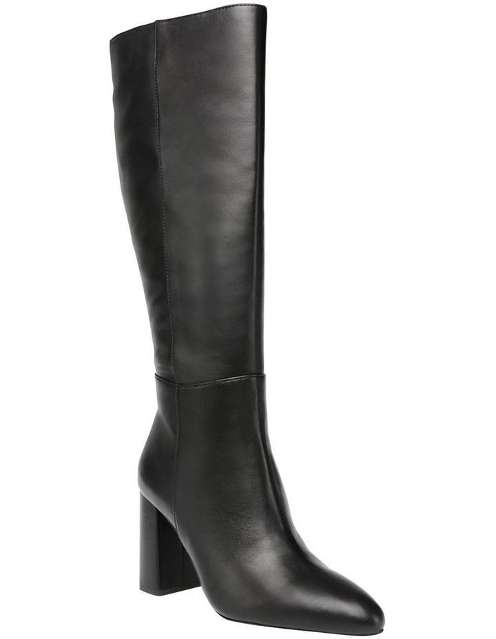 Ninny Black Leather Boot image 2