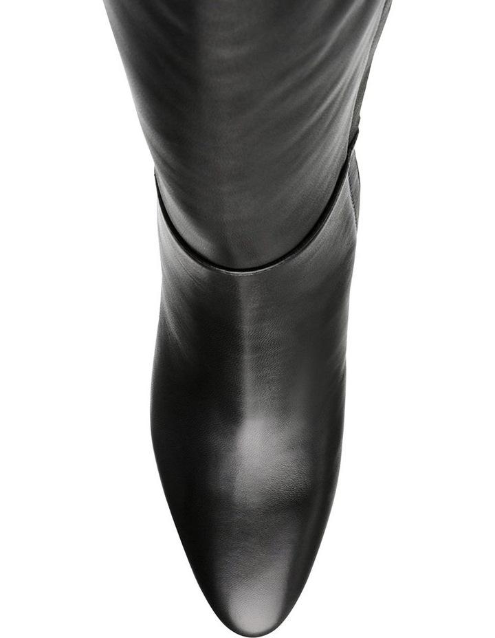 Ninny Black Leather Boot image 3